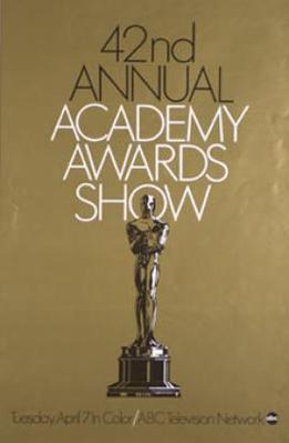 Oscars du Cinéma - 1970