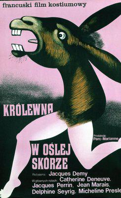 ロバと王女 - Affiche Pologne