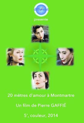 20 Meters of Love in Montmartre