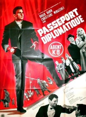 Passeport diplomatique Agent K8