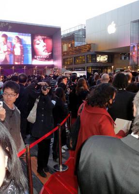 Octavo Panorama de cine francés en China - Ouverture du festival (2)