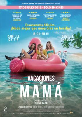 Vacaciones con mamá - Poster - Spain