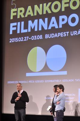 Laurent Cantet in Budapest for the 5th Francophone Film Days - Laurent Cantet présente Retour à Ithaque