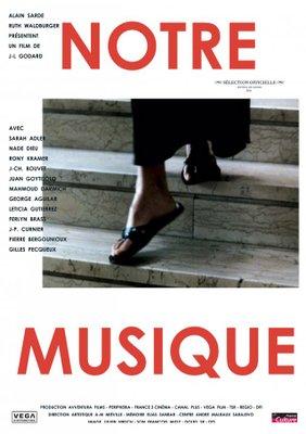 Notre musique / アワーミュージック - Poster France