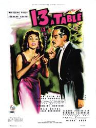 Treize table 1955 unifrance films for Le chiffre treize