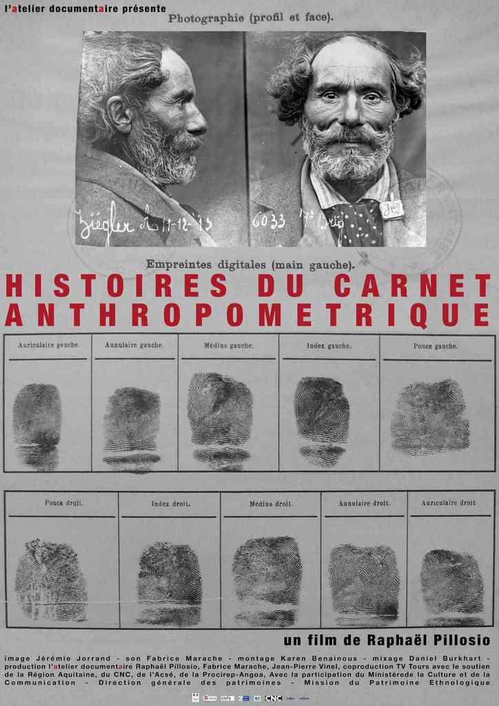 Histoire(s) du carnet anthropométrique - HIstoires du Carnet Anthropométrique