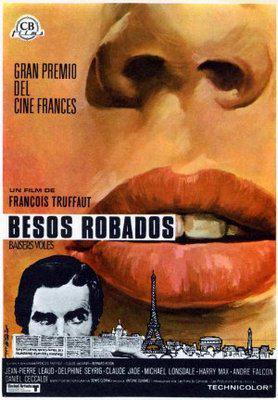 Besos robados - Poster Espagne
