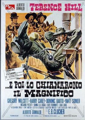 Y después le llamaron El Magnífico - Poster - Italy