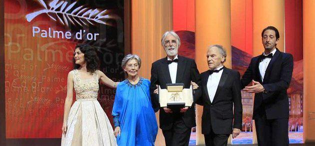 Michael Haneke wins second Palme d'Or