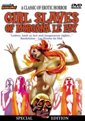 Girl Slaves of Morgana Le Fay - Jaquette DVD Etats-Unis