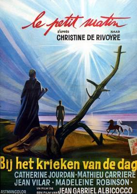 Le Petit Matin - Poster Belgique