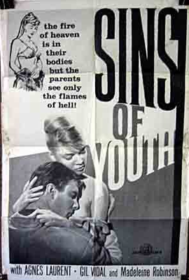 Sins of Youth - Poster Etats-Unis