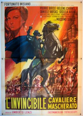 The Invisible Masked Rider - Poster - Italy