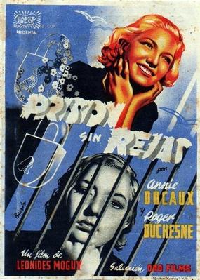 Prisión sin rejas - Poster Espagne