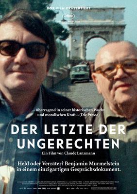 Le Dernier des injustes - Poster - Germany