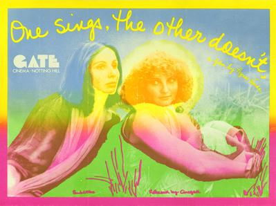 One Sings, the Other Doesn't - Affiche anglaise