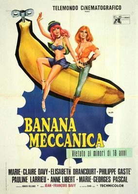 Bananes mécaniques - Poster Italie