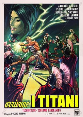 Les Titans - Poster Italie
