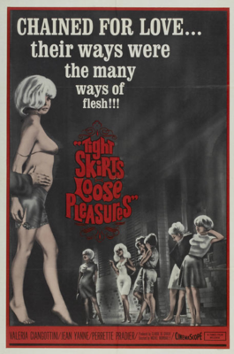 Tight Skirts, Loose Pleasures - Poster Etats-Unis