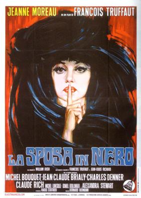 The Bride Wore Black - Poster Italie