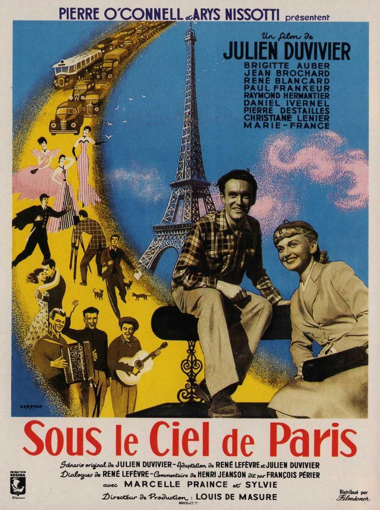 Sous le ciel de Paris