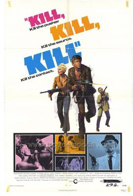 Kill! Kill! Kill! - Poster - Etats-Unis