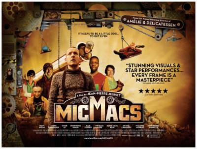 Micmacs - Poster - UK