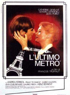 El último metro - Poster Italie