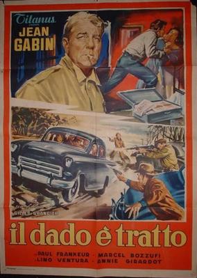Le Rouge est mis - Poster Italie