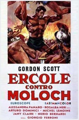 Ercole contro Moloch  - Poster - Italy