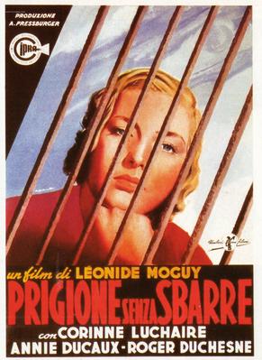 Prison sans barreaux - Poster Italie