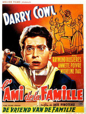 L'Ami de la famille - Poster Belgique