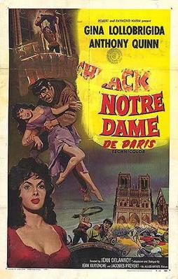 Notre-Dame de Paris - Affiche américaine