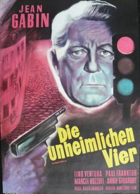 Le Rouge est mis - Poster Allemagne