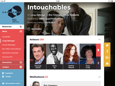 UniFrance lance sa nouvelle application mobile