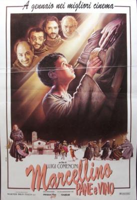 Marcellino pan y vino - Poster Italie