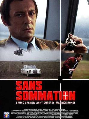 Sans sommation - Jaquette DVD France