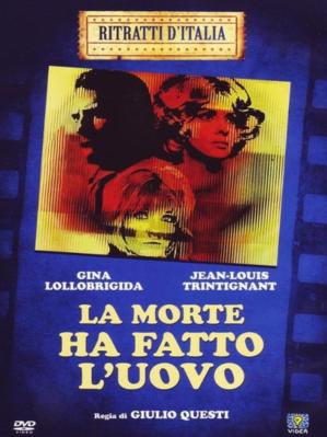 La Mort a pondu un oeuf - Jaquette DVD Italie