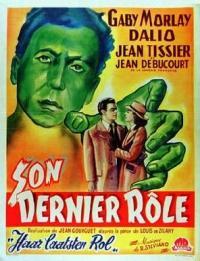 Son dernier rôle - Poster Belgique