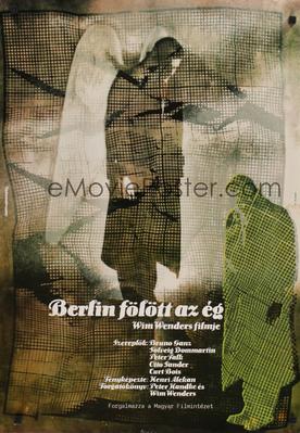 El Cielo sobre Berlín - Poster Hongrie