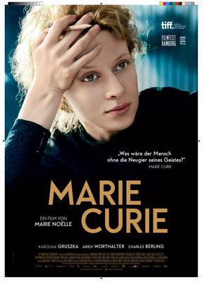 Marie Curie, the Courage of Knowledge - Poster - Germany