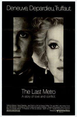 The Last Metro - Poster Etats-Unis