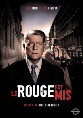 Le Rouge est mis - Jaquette DVD France