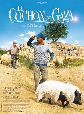 Le Cochon de Gaza - Poster - France