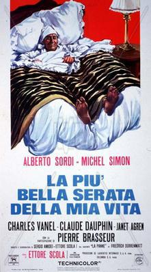 The Most Wonderful Evening of My Life  - Poster Italie