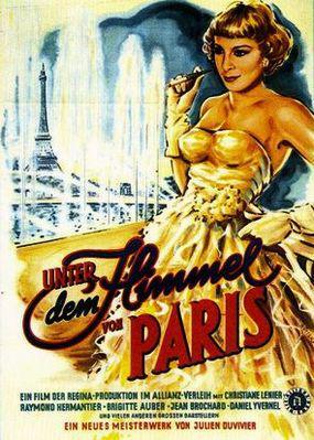巴里の空の下セーヌは流れる - Poster Allemagne