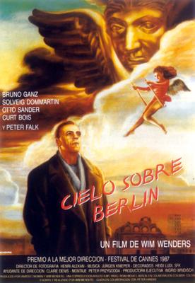 Cielo sobre Berlín - Poster Espagne