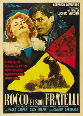 Rocco and His Brothers - Poster Italie