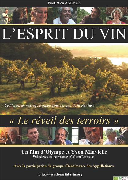 """L'Esprit du vin """"Réveil des terroirs"""""""