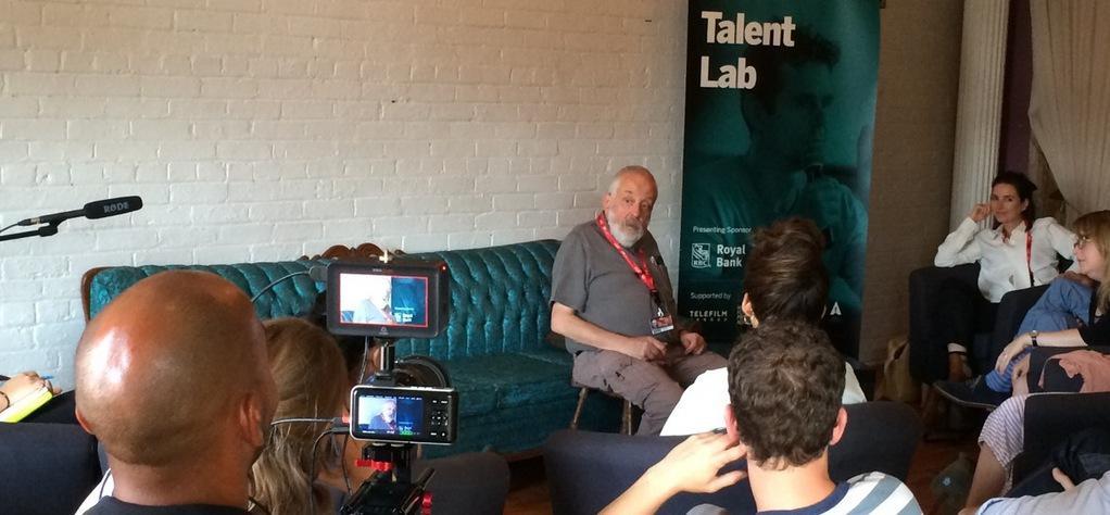 Joan Chemla en el Talent Lab del Festival de Toronto